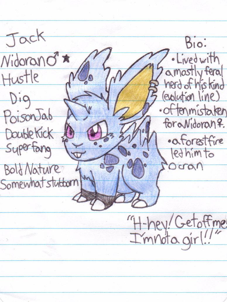 Jack (npc, maybe blue hue recruit?) by xEmoXDudetx
