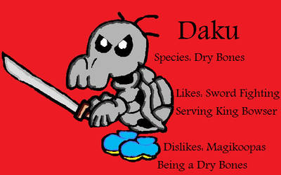 Paper Mario SB Partner: Daku by Cyber-Hero