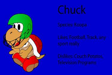 Paper Mario SB Partner: Chuck by Cyber-Hero