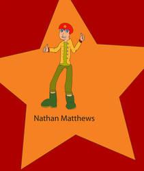 Nathan 'Nate' Matthews by Cyber-Hero