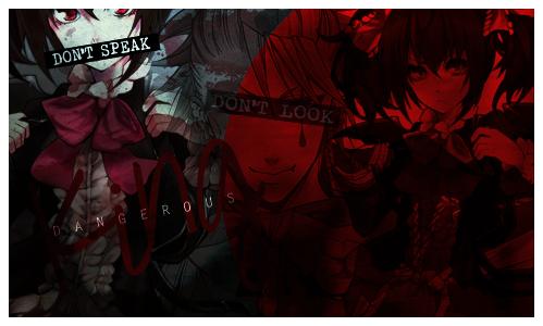 Psycho -Joker's tales- ROL - Página 2 Don_t_speak__psycho__by_llawliiett-d8f4gr2