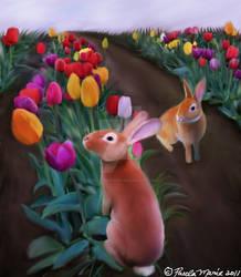 Happy Spring by youlittlemonkey
