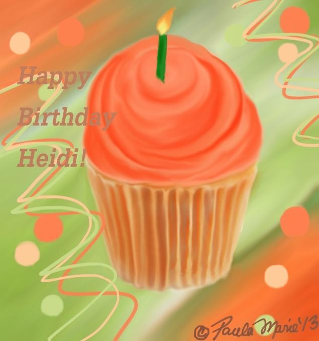 Happy Birthday Heidi by youlittlemonkey