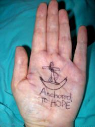 Anchored To Hope by youlittlemonkey