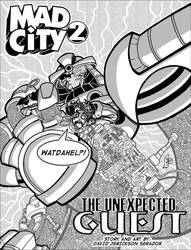 Mad City issue 2 Page 1 by atomic-underground