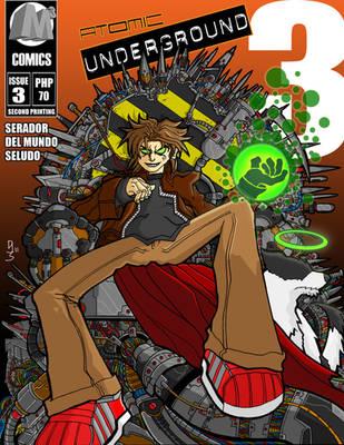 Atomic Underground Issue 3 by atomic-underground