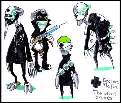 The black cruxes by Sony-Shock