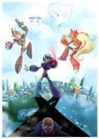 Megaman X by Sony-Shock