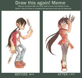 Draw improvement meme by Sony-Shock