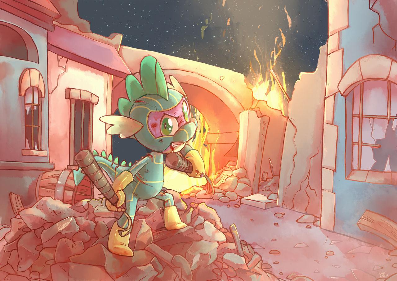 Destruction of Canterlot