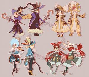 Classes designs