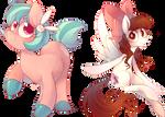 Bunny Belle and Jennabun