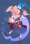 Wizard Bunny comm