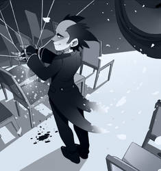 Sketchtember 13-In Black by Sony-Shock