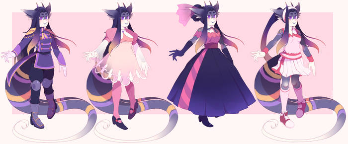 COMM- Outfit designs by Sony-Shock