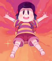 Ness in red by Sony-Shock