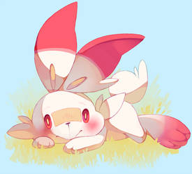 Scorbunny by Sony-Shock