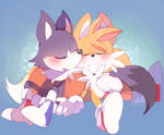 Odd and Tails napping