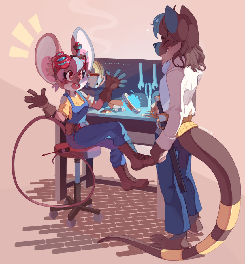 COMM-Ines and Kadir by Sony-Shock