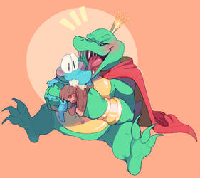 COMM-Kute K Rool by Sony-Shock