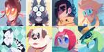 OC avatars by Sony-Shock