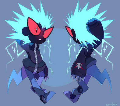 Slash' electrified form by Sony-Shock