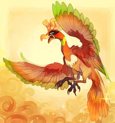 Ho-Oh by Sony-Shock