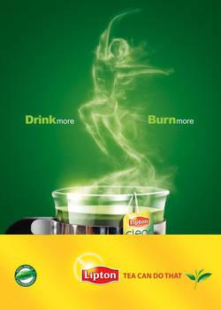 LIPTON GREEN TEA DIET AD