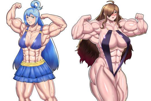 Aqua and Wiz