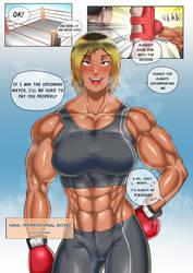 Yana One page comic introduction