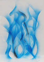 Blue Flames by akimamaklav