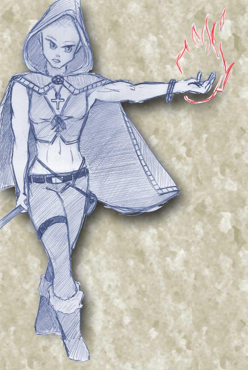 Ranger slash Mage by akimamaklav