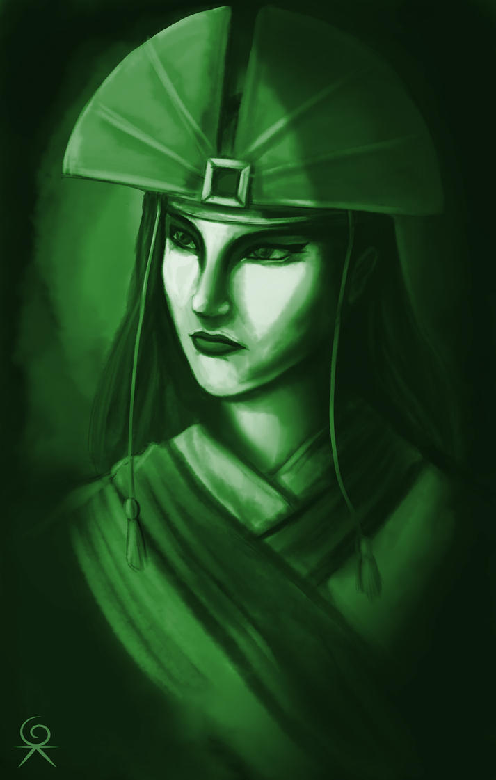 Avatar Kyoshi by Geokeeno