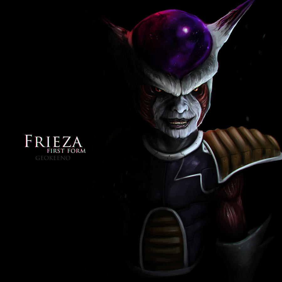 First Form Frieza by Geokeeno on DeviantArt