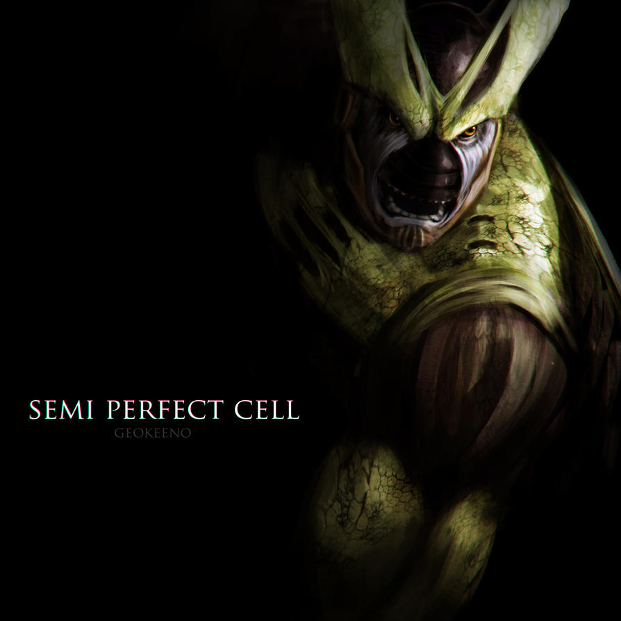 Semi Perfect Cell By Geokeeno On Deviantart