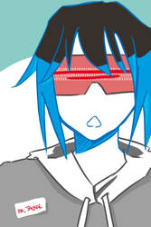 Chacal a lunettes by the-inane
