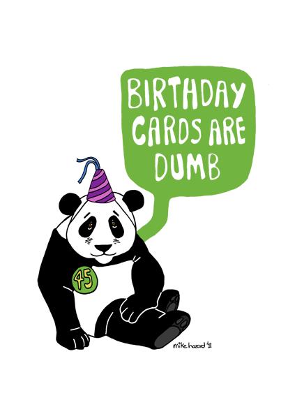 Alternative birthday card by mikehazard on DeviantArt – Alternative Birthday Greetings