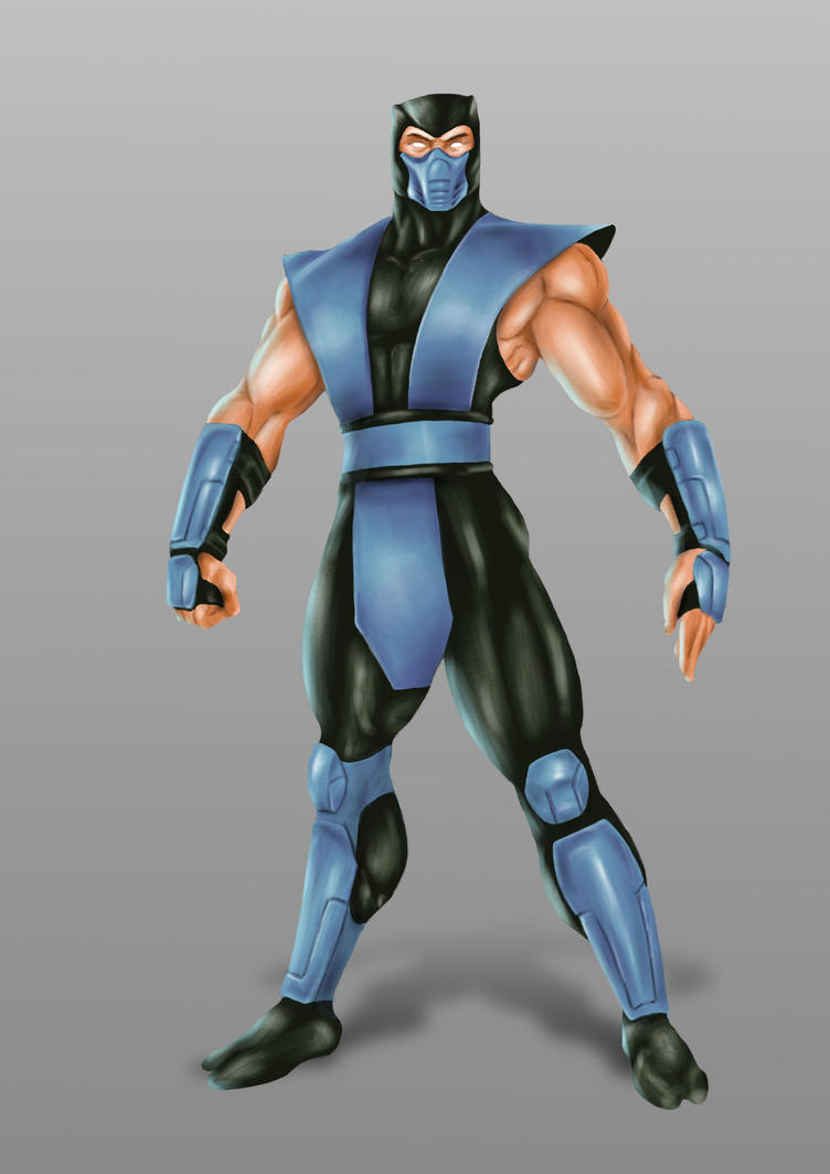 ilustracion Sub-Zero (classic) by m4part2
