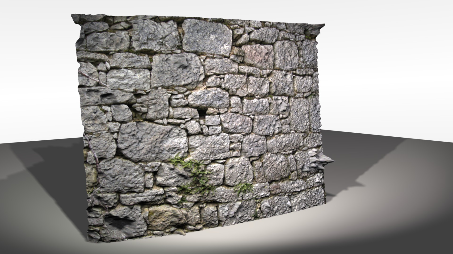 Automatic 3d modeling wall2 by hipe-0