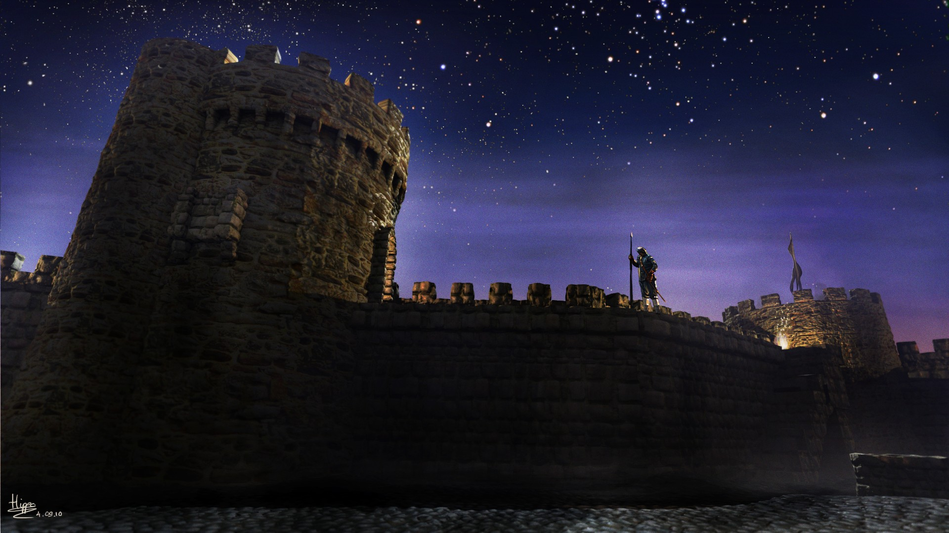 Medieval Castle Keep contest by hipe-0