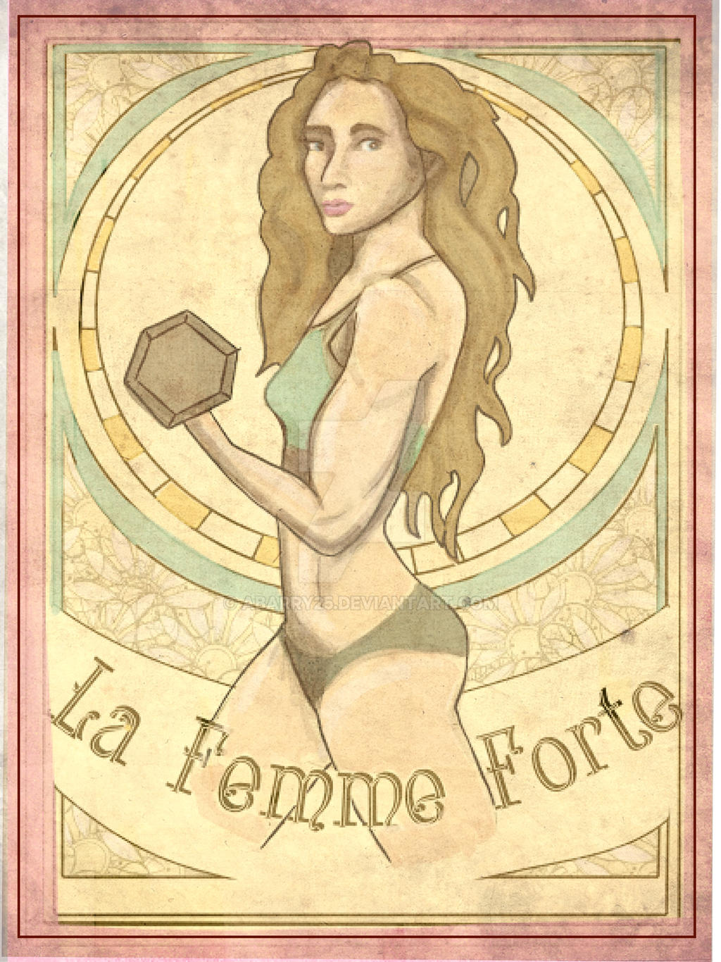 foto de Art Nouveau (La Femme Forte) by abarry25 on DeviantArt