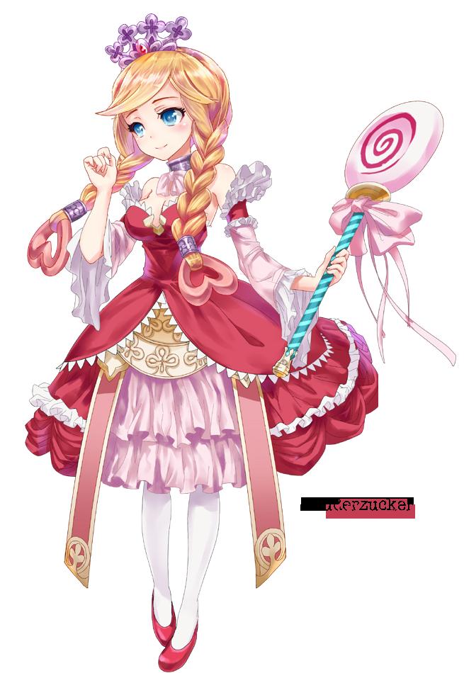 Anime Princess Render By Xpuderzucker On Deviantart