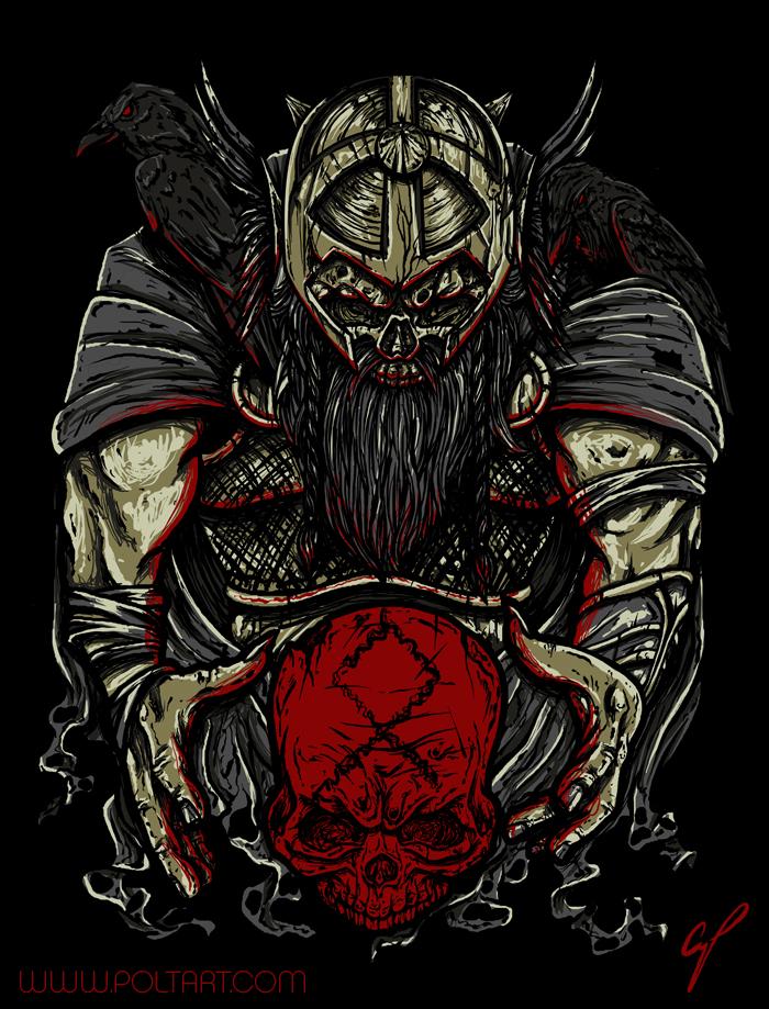 Odin God Wallpaper