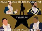 Hamilton, Lafayette, Laurens and Mulligan