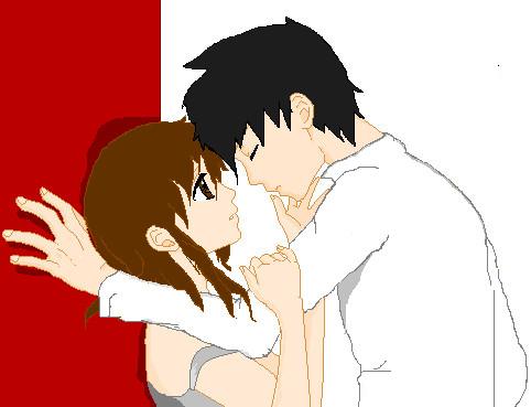anime couple xd by moonlight1234 on deviantart