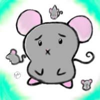 Kawii Chibi Mouse by MsMeako
