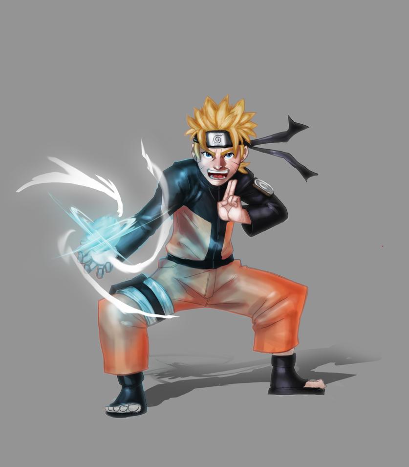 #005 Uzumaki Naruto by fuad-mddin