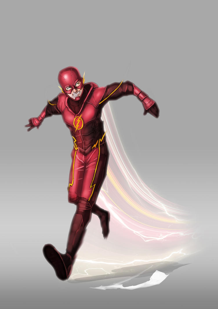 #009 The Fastest Man Alive by fuad-mddin