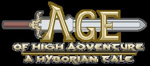 'Age of High Adventure' Logo Mockup by CallMeMrA