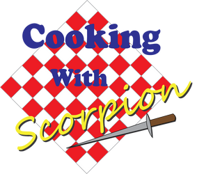 Cooking with Scorpion logo